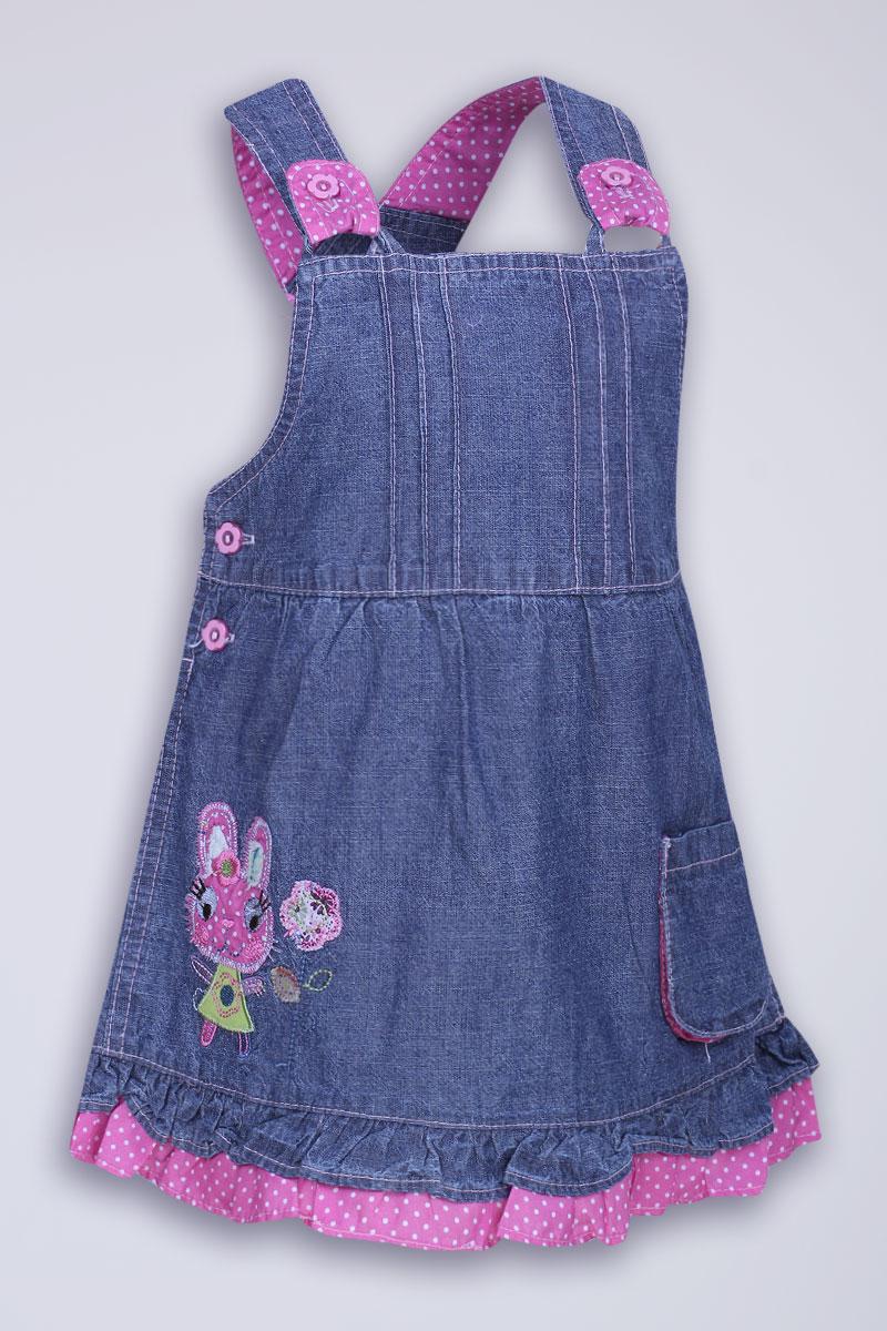 Сшить сарафан для девочки из джинсы 335