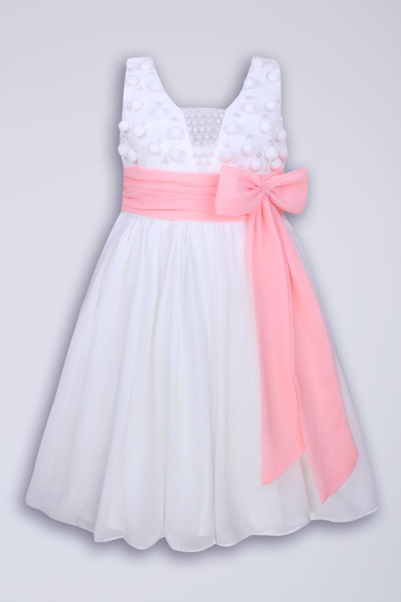 Красивый пояс на детское платье своими руками 5