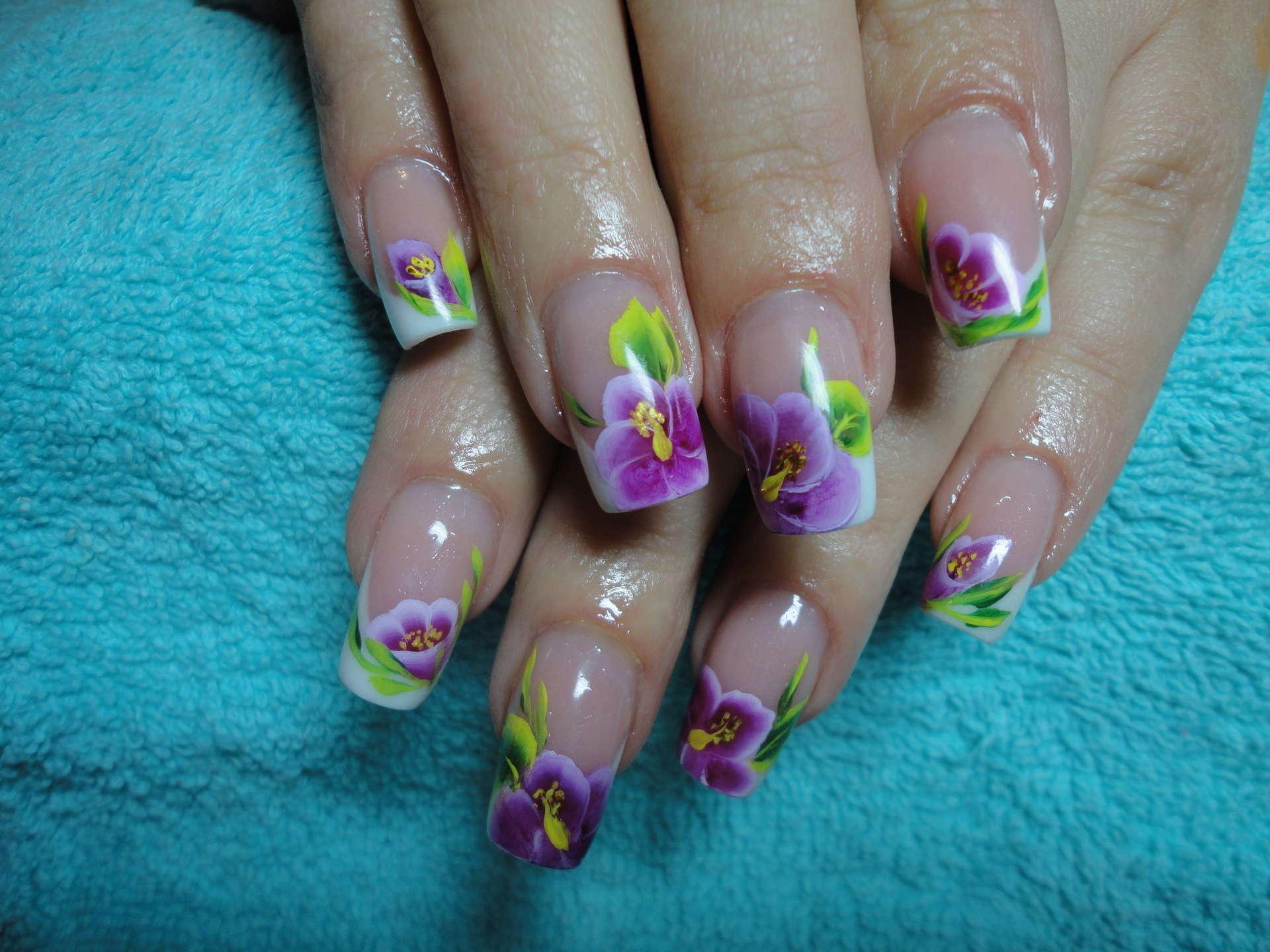 Дизайн ногтей весна лето. 82 фото маникюра. -Фото дизайна 33