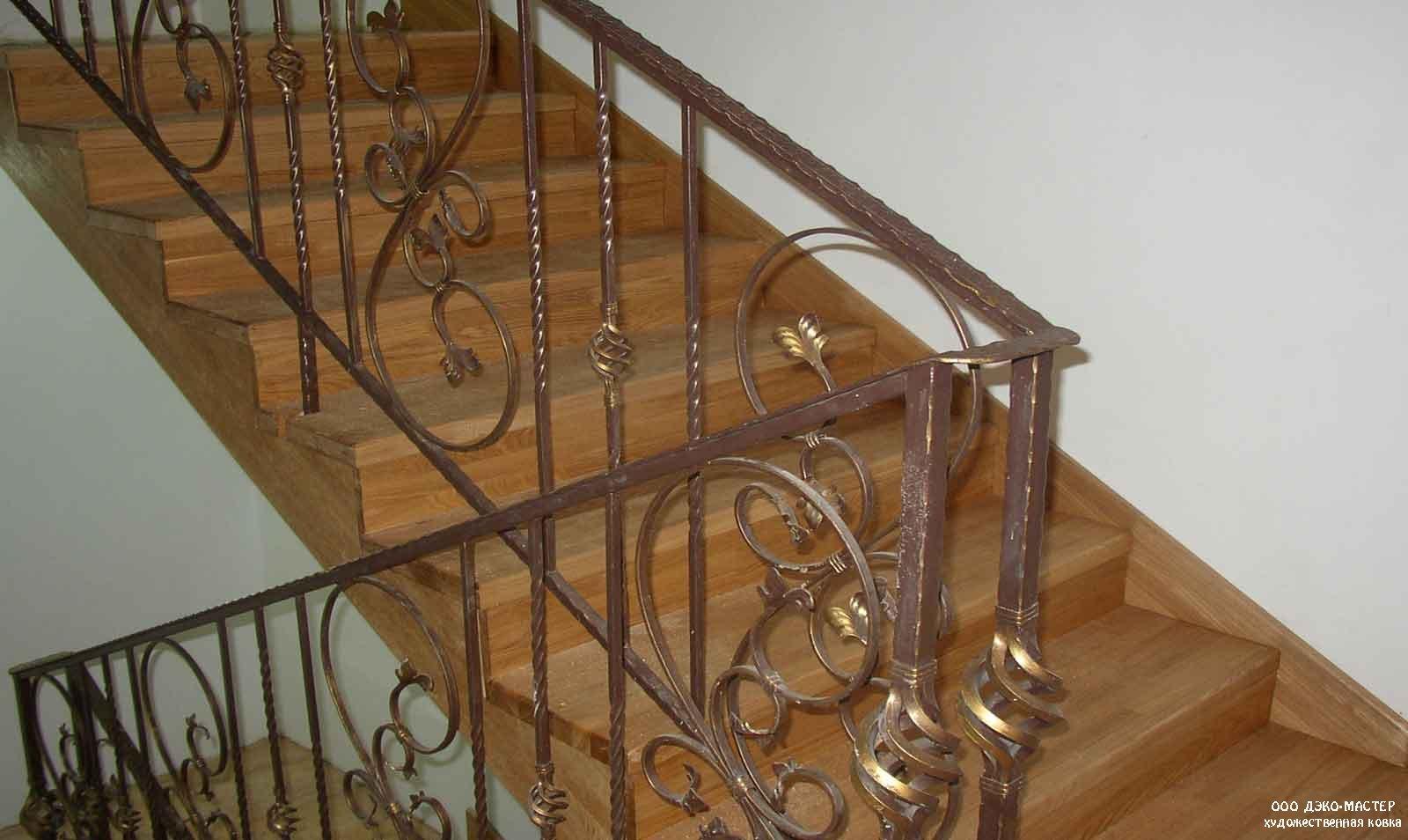 Фото лестницы для дома кованые 4