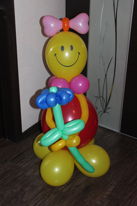 Фигурки из шаров своими руками фото