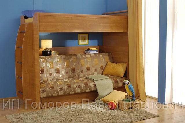 Двухъярусные Кровати С Диваном Внизу Москва