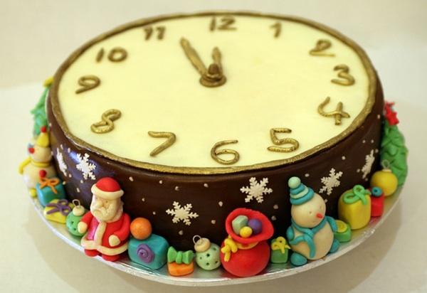 Новогодние торты своими руками рецепты