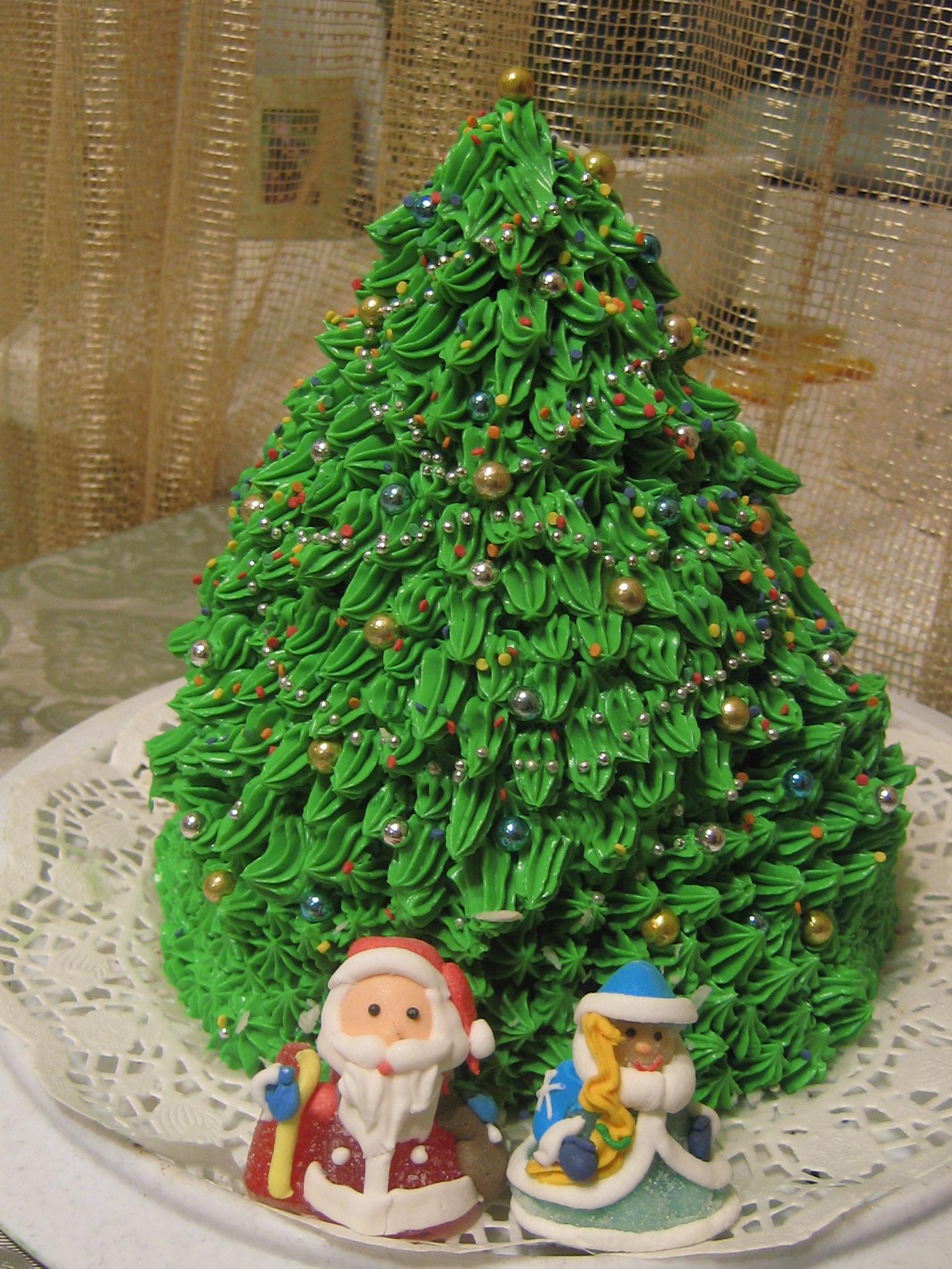 Торт елка рецепт