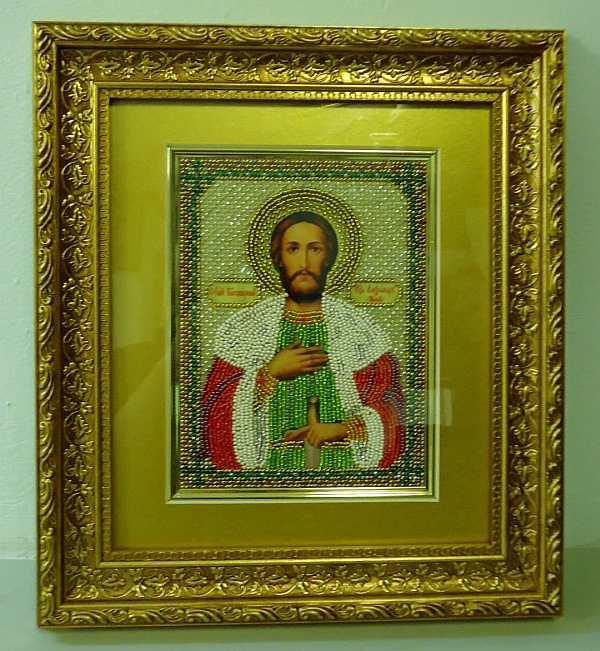 Паспарту на икону своими руками