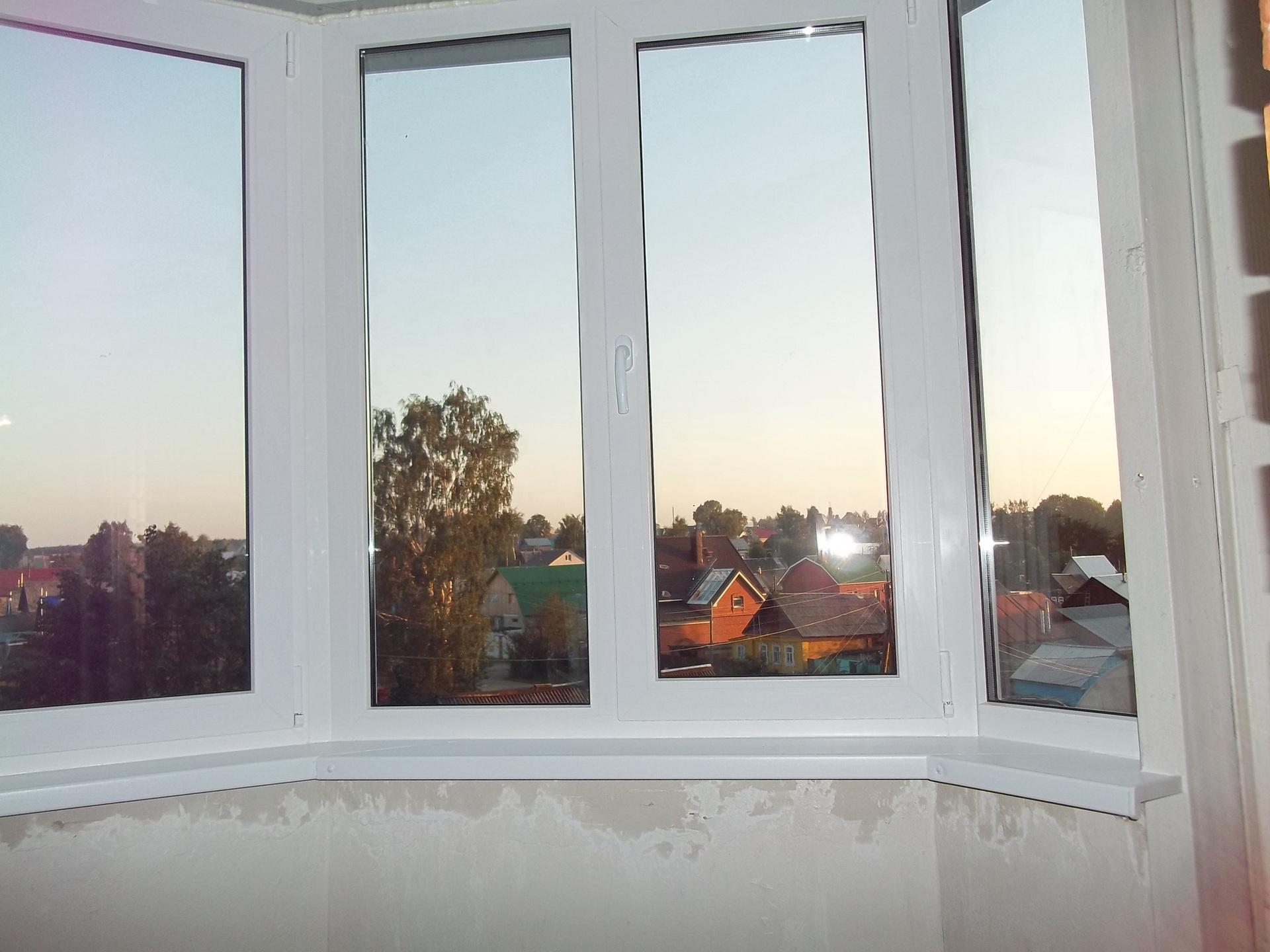 Балконные пластиковые окна - качество по выгодной цене.
