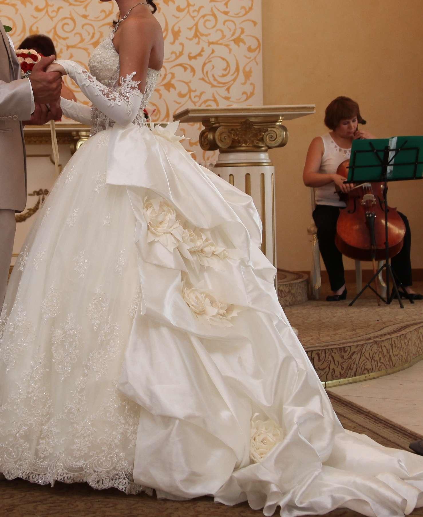 Свадебные Платья Цвет Шампань С Накидкой