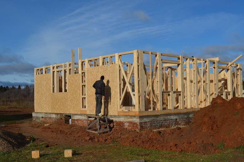 Дом без опыта строительства своими руками