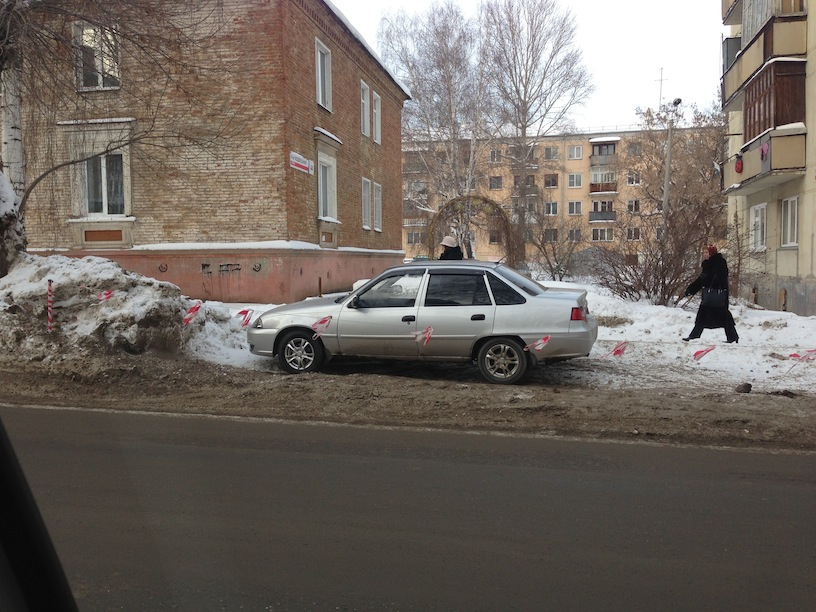 Сосед отгородил место под стоянку законно ли это