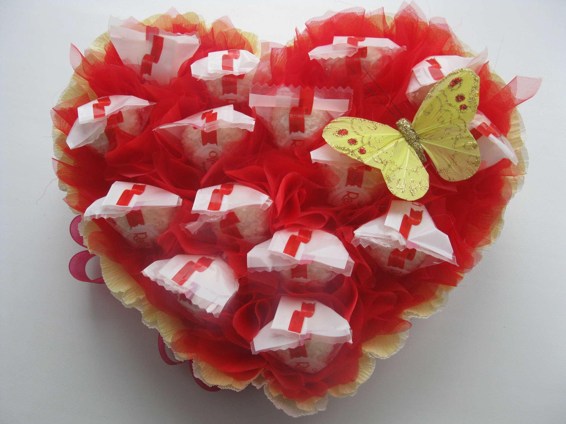 Сладкий подарок своими руками ко дню святого валентина