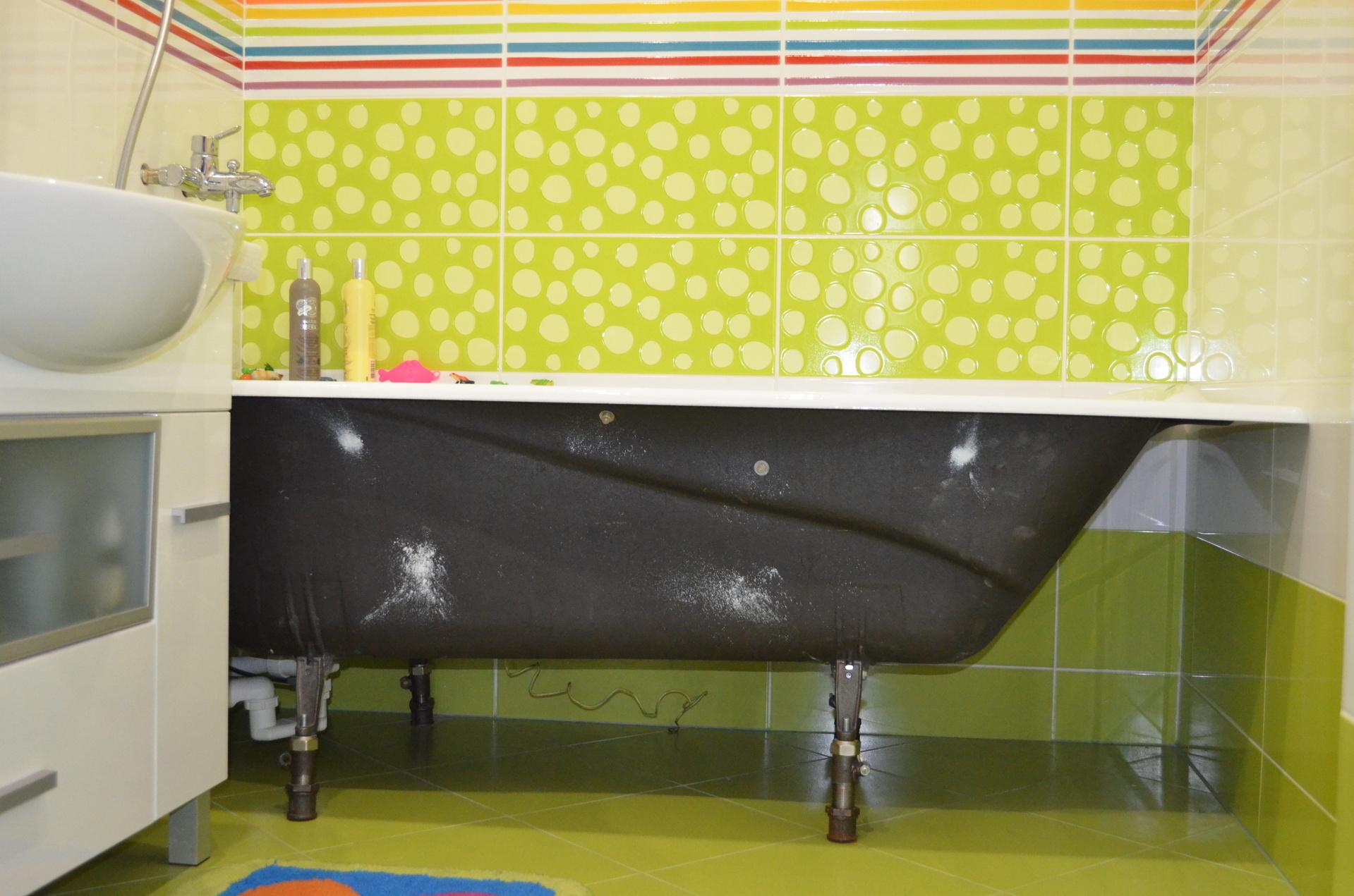 Декоративные ножки для чугунной ванны своими руками