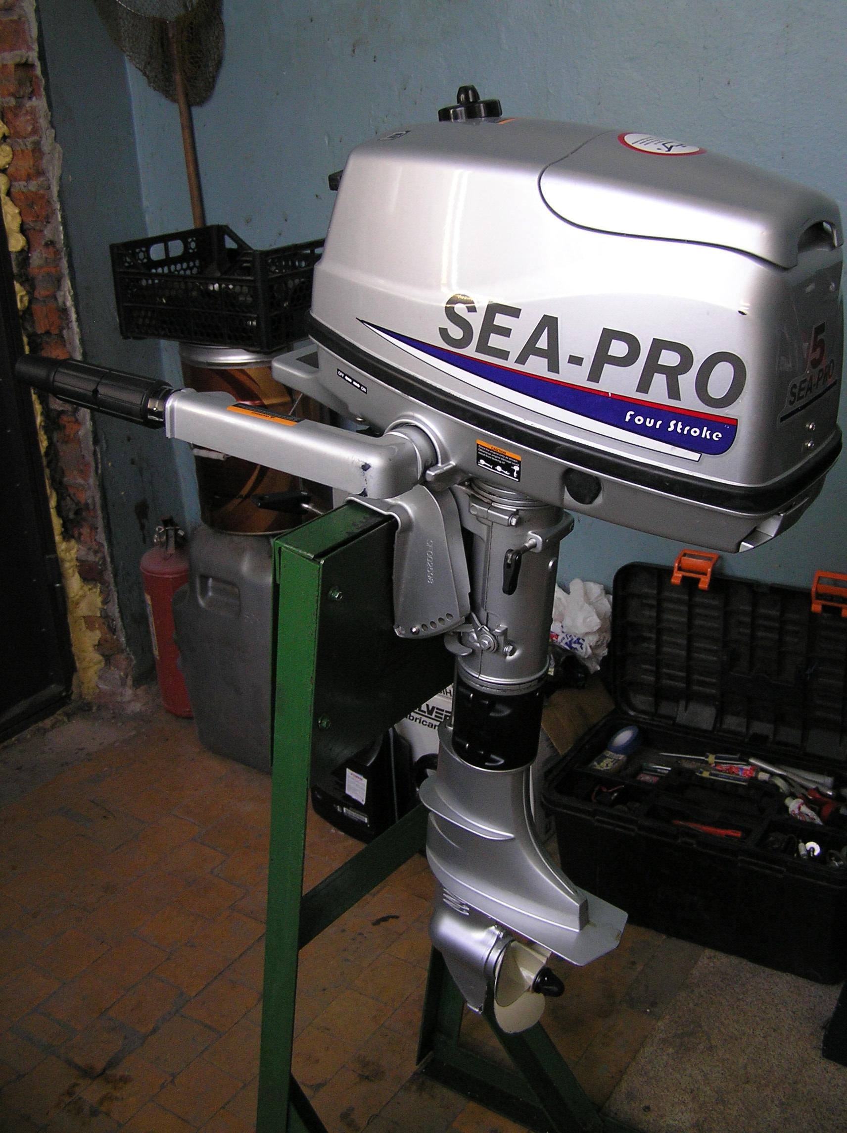 sea pro 5 л.с двухтактный купить