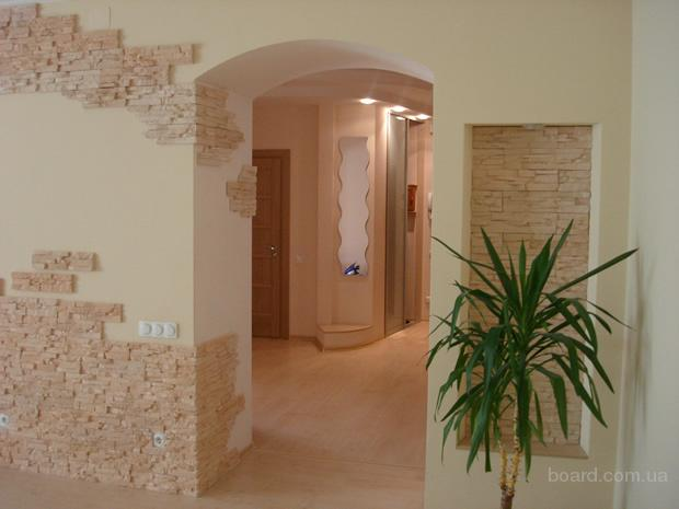 Декоративный дизайн квартиры