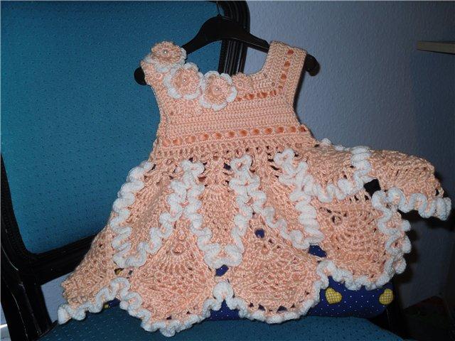 Клубок ру вязание крючком для детей платье