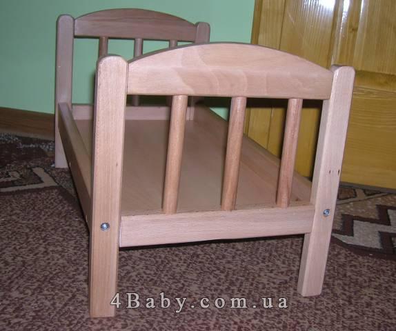 Как сделать кроватку из дерева для куклы