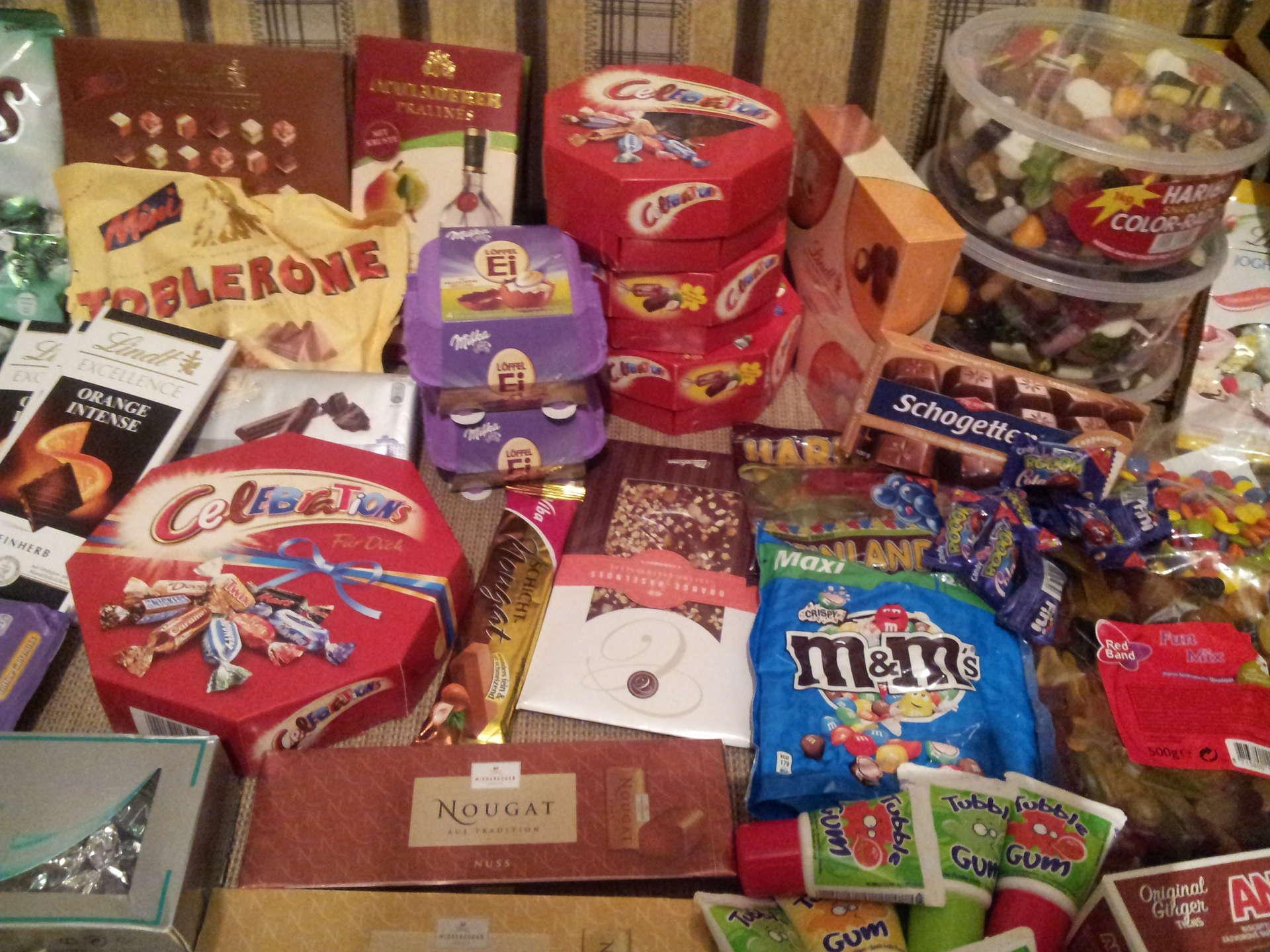 Популярные подарки в европе