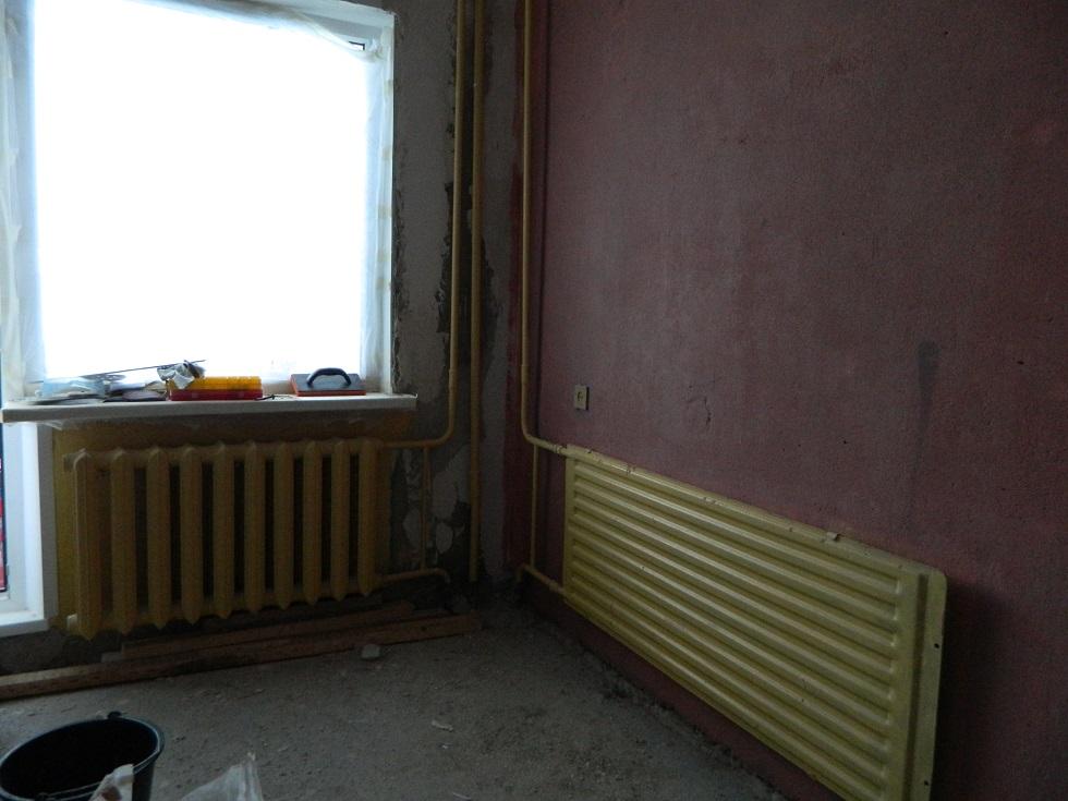 Как оформить батарею под окном150