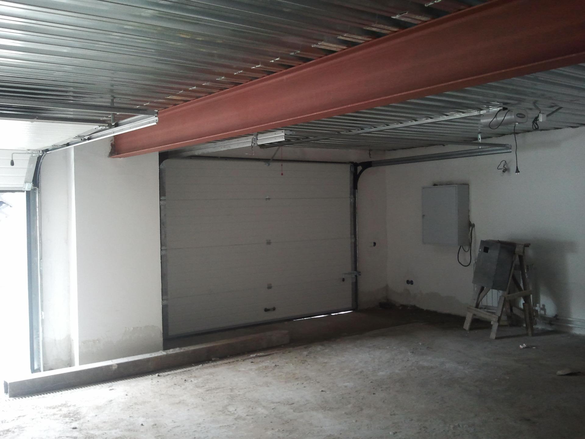 Крыша гаража из профнастила 63