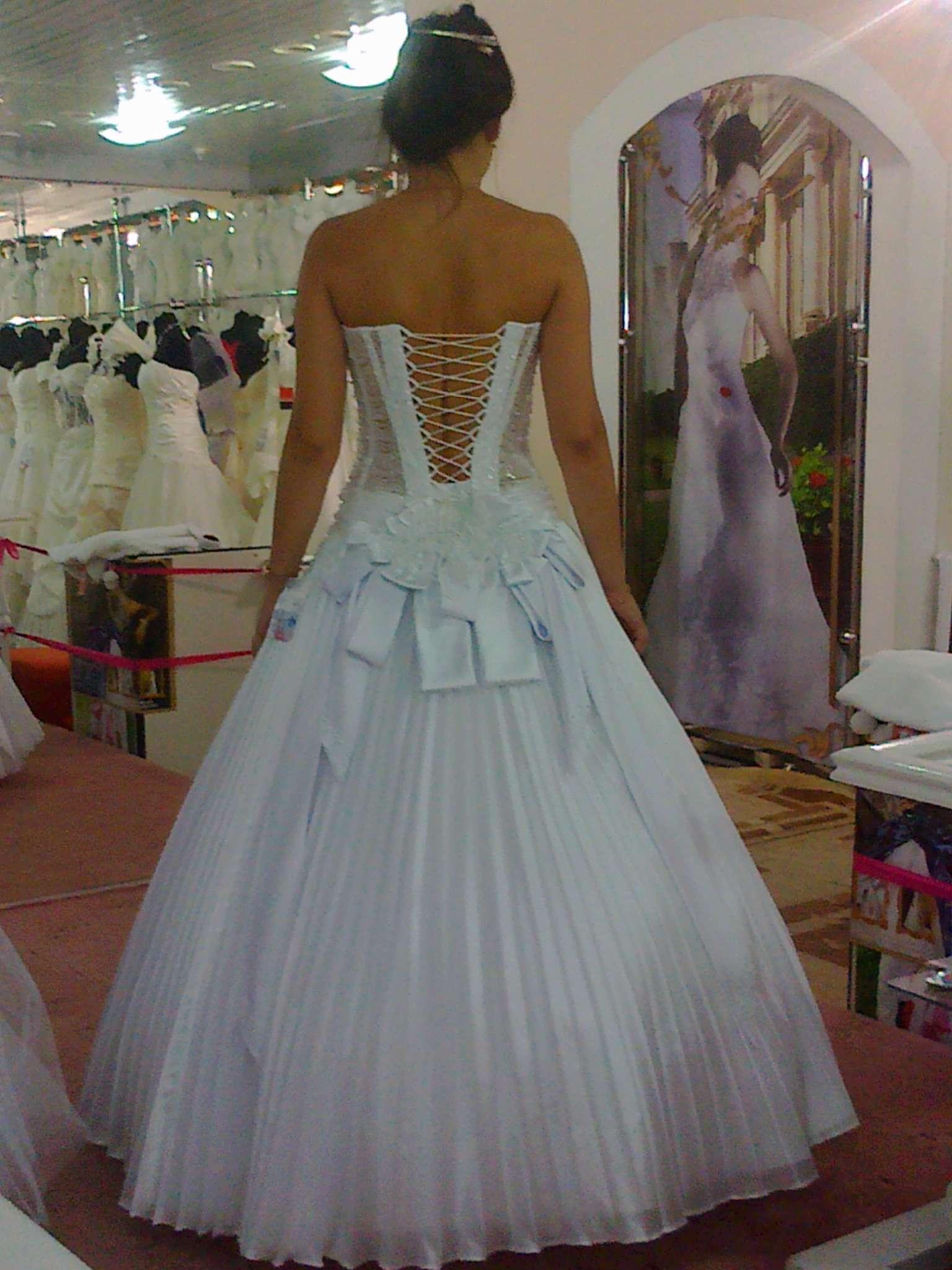 Свадебное платье в домашних условиях фото