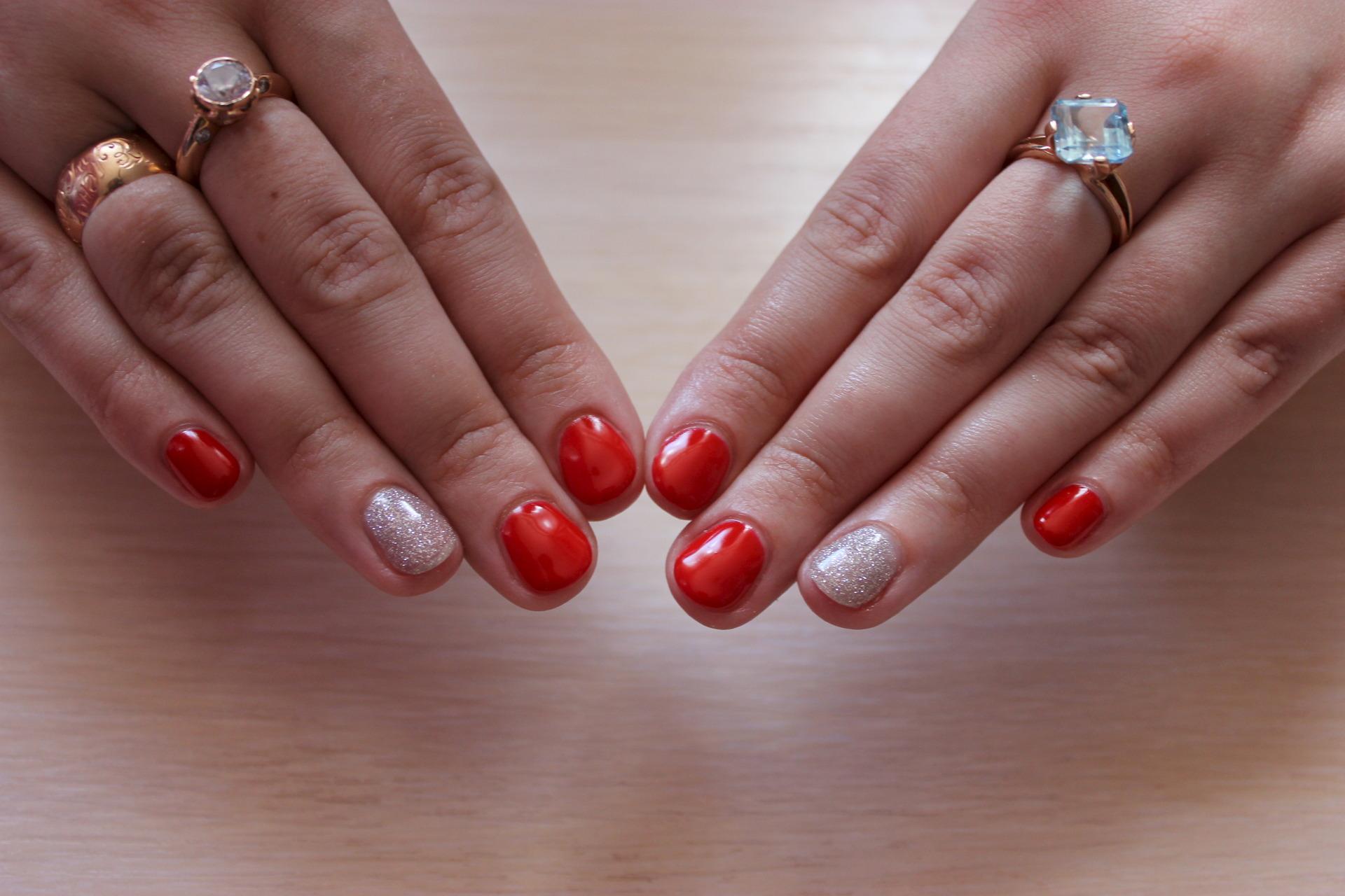 Красивое покрытие ногтей гель фото
