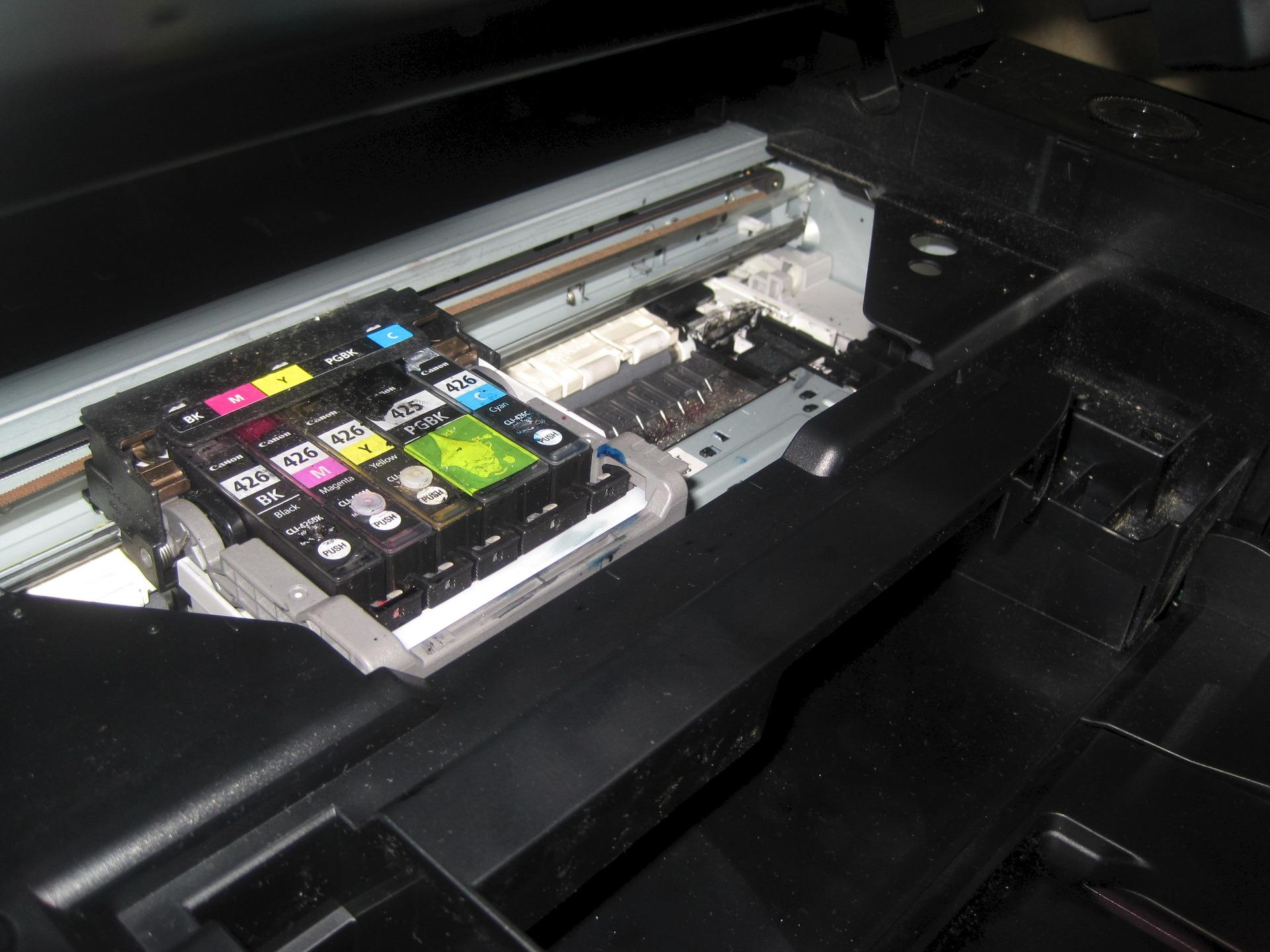 Ремонт принтера кэнон своими руками