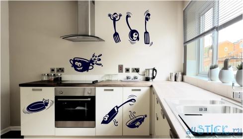 Трафареты своими руками для кухни