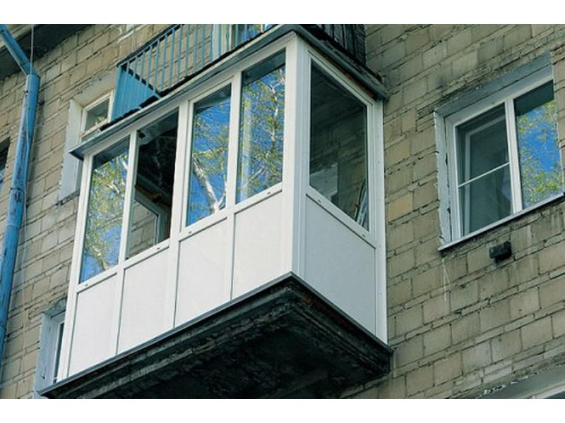 Остекленение балконов в алматы от компании atlant - 2000 сов.