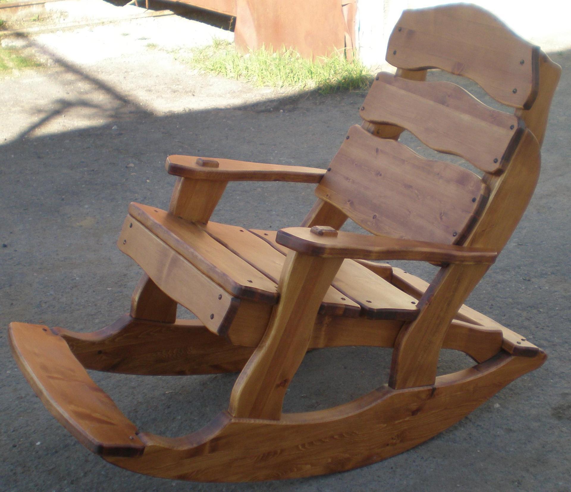 Кресла качалка своими руками фото