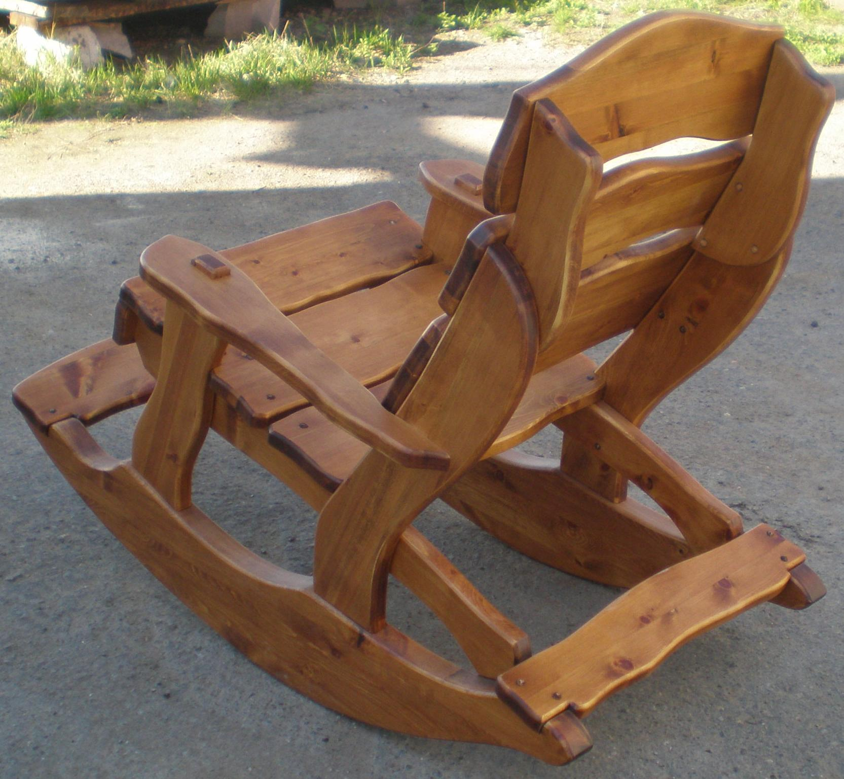 Кресла из дерева для дома своими руками фото