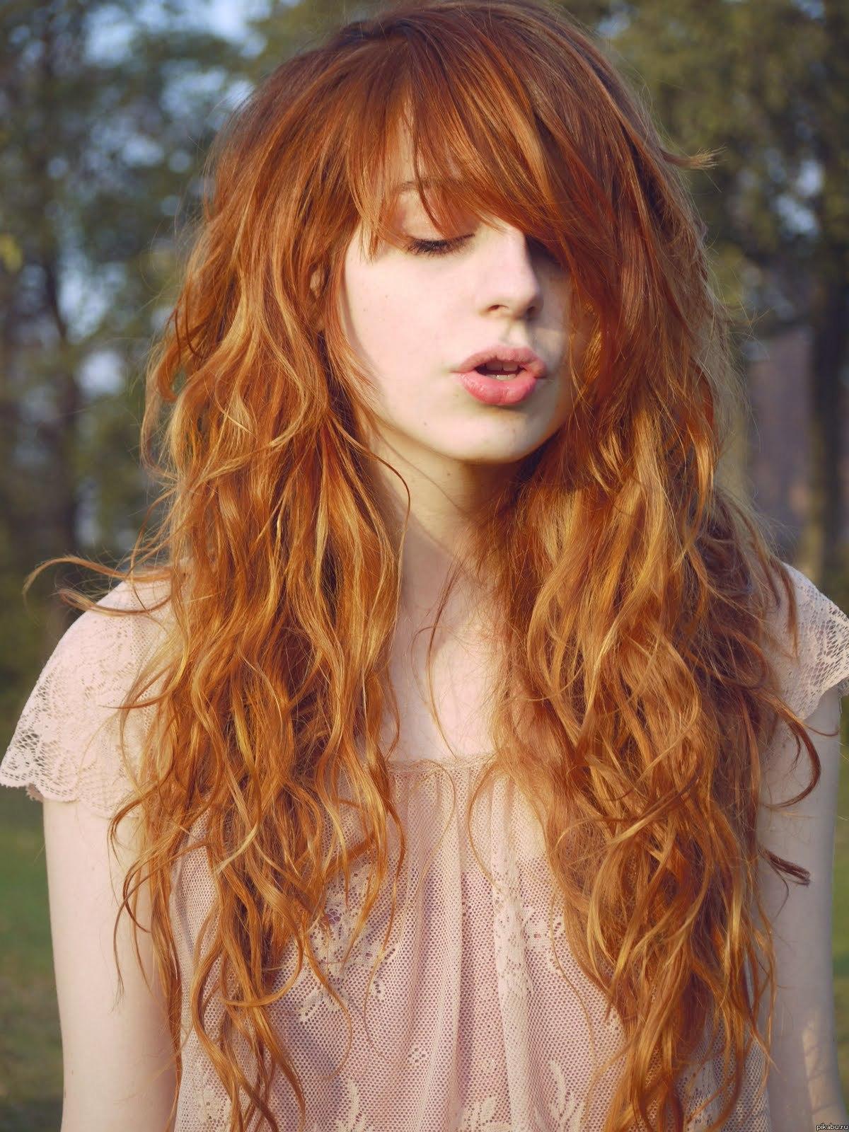 Фото девушек с рыжими и русыми волосами 2 фотография