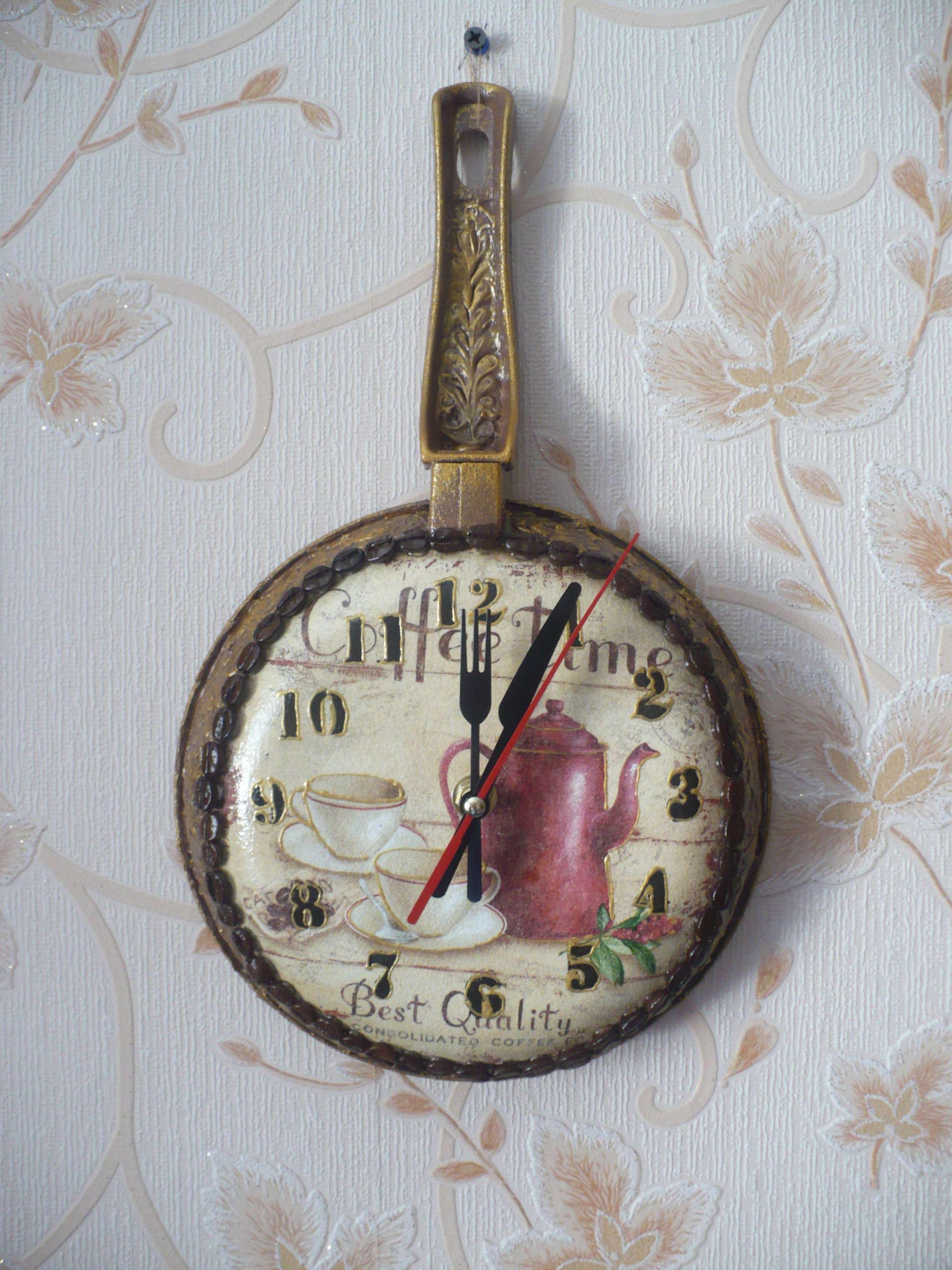 Настенные часы топиарий своими руками мастер класс фото