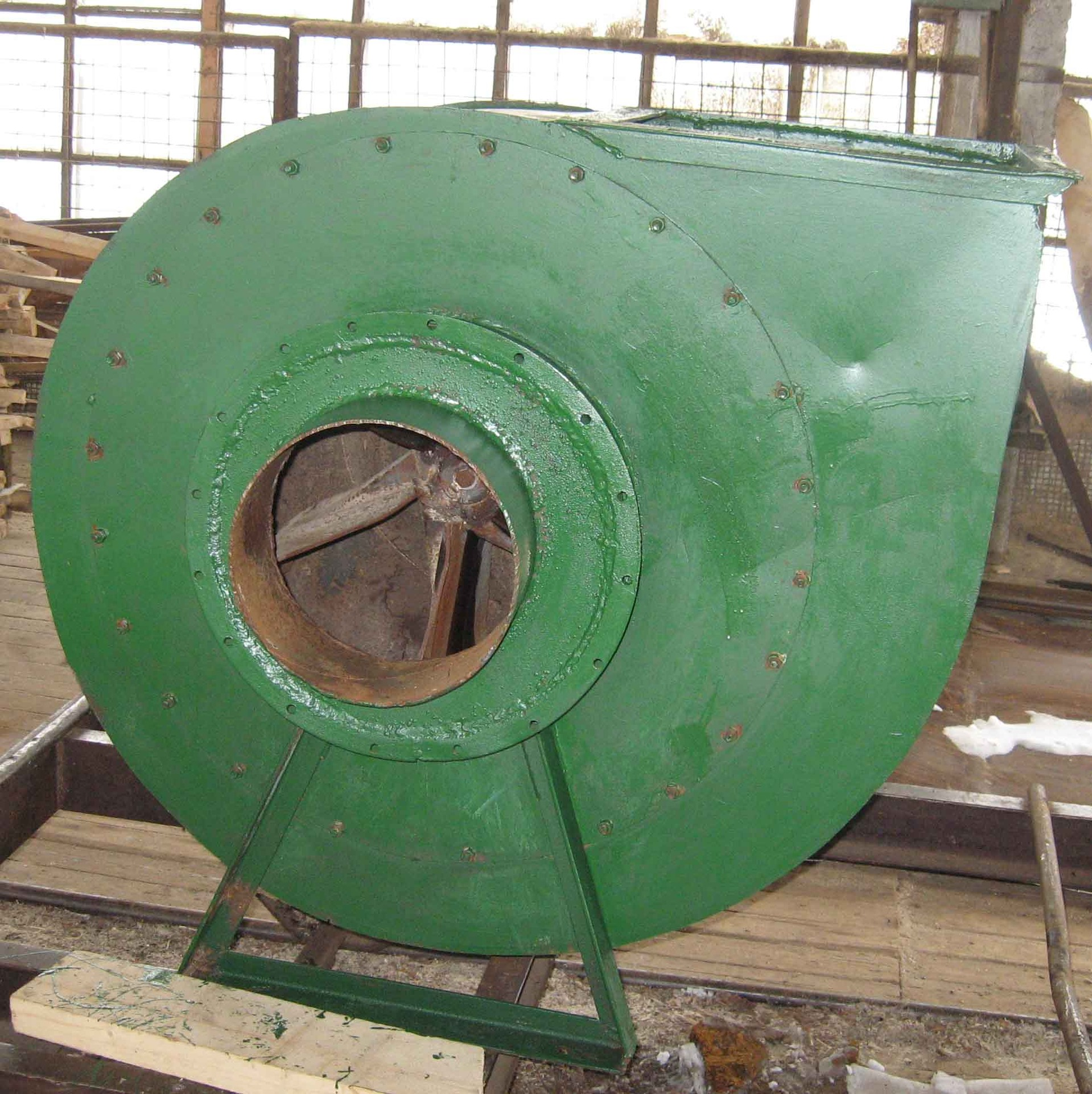Вентилятор пылевой 6