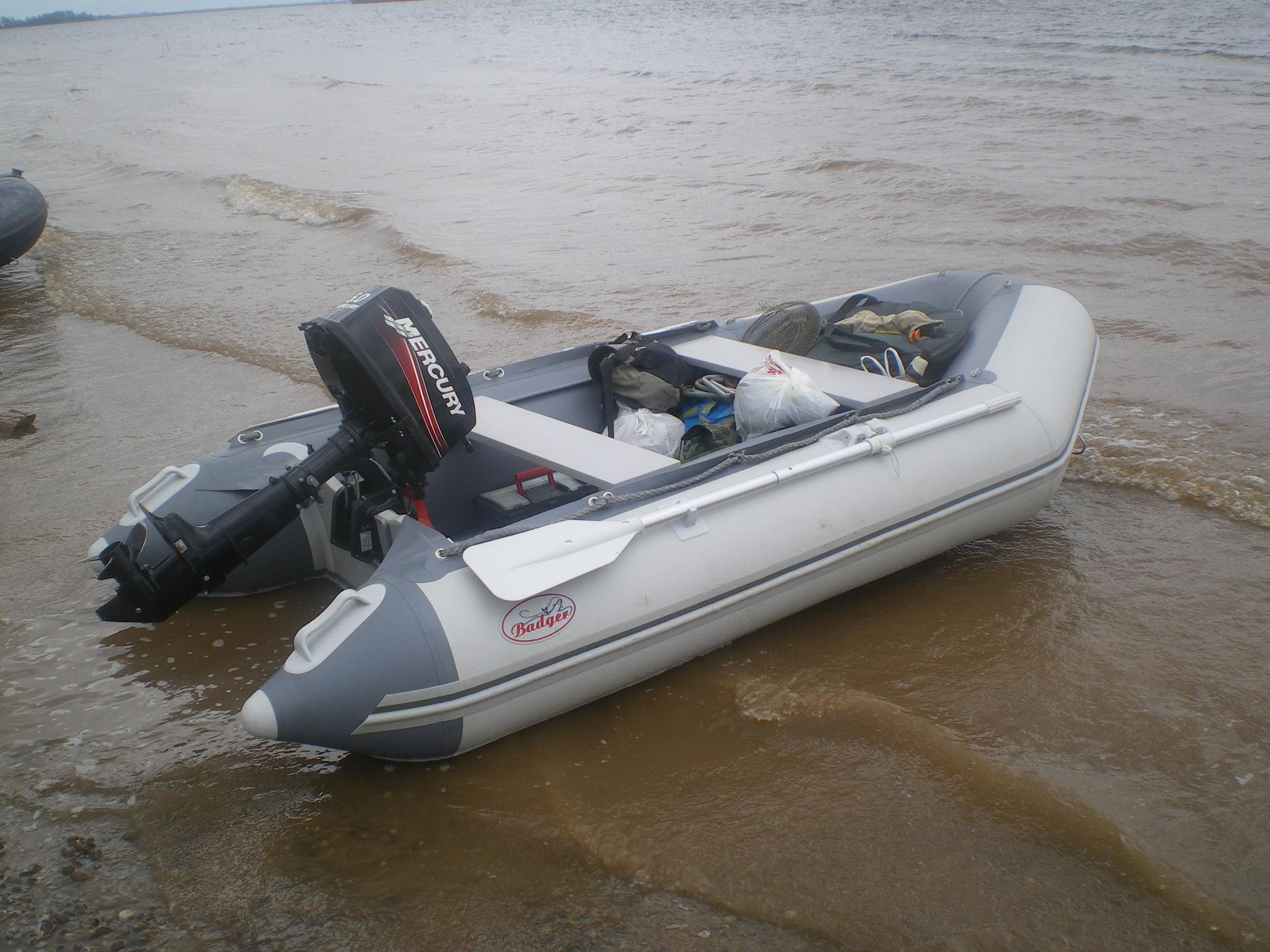 купить новую лодку баджер