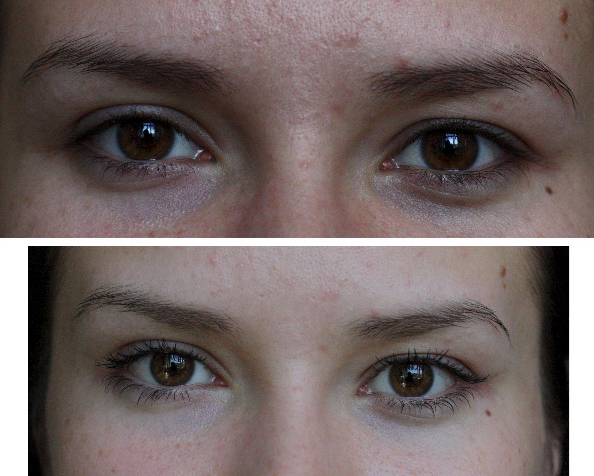 Окраска ресниц до и после фото отзывы