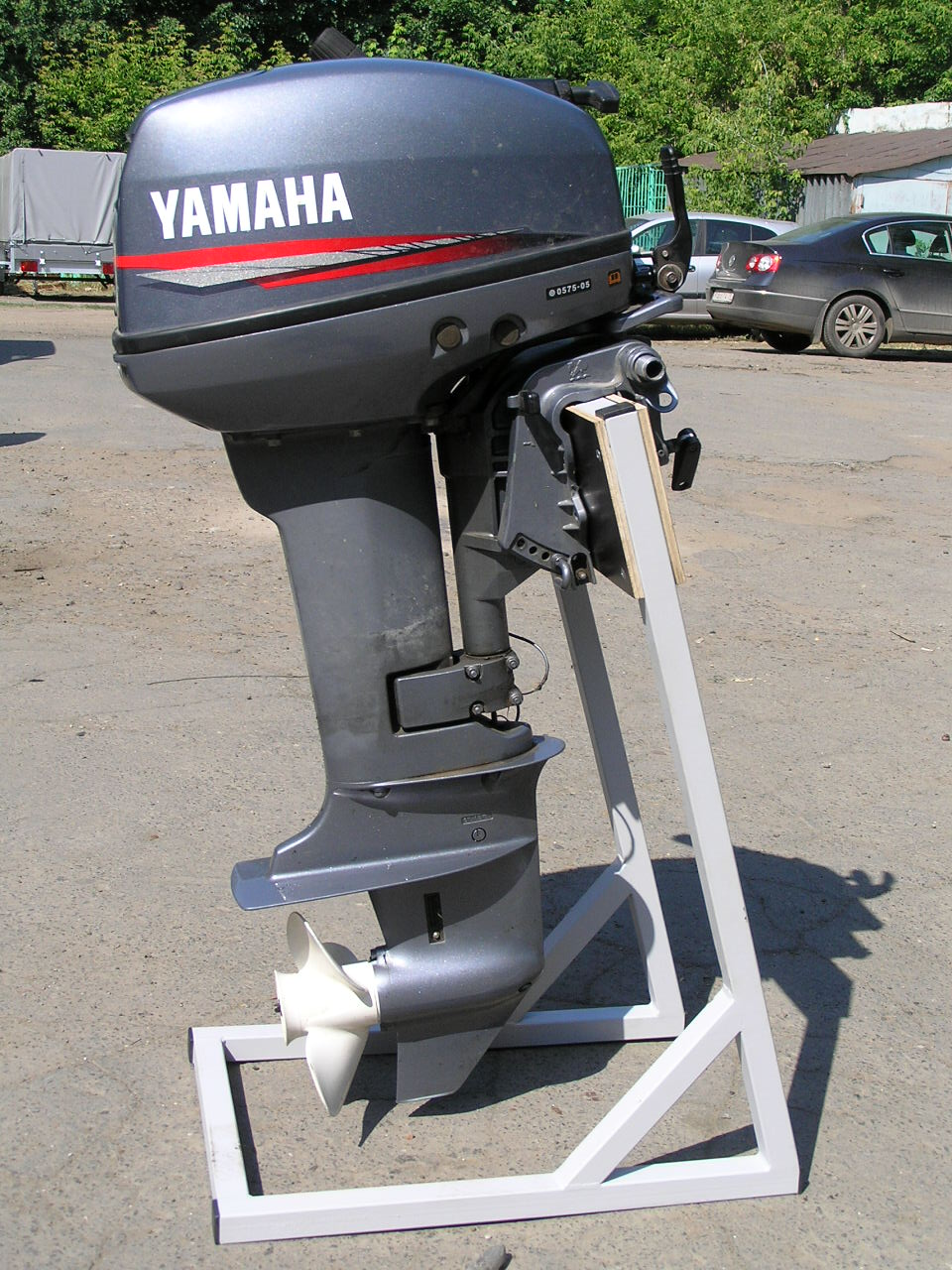 Подставка для хранения лодочного мотора своими руками