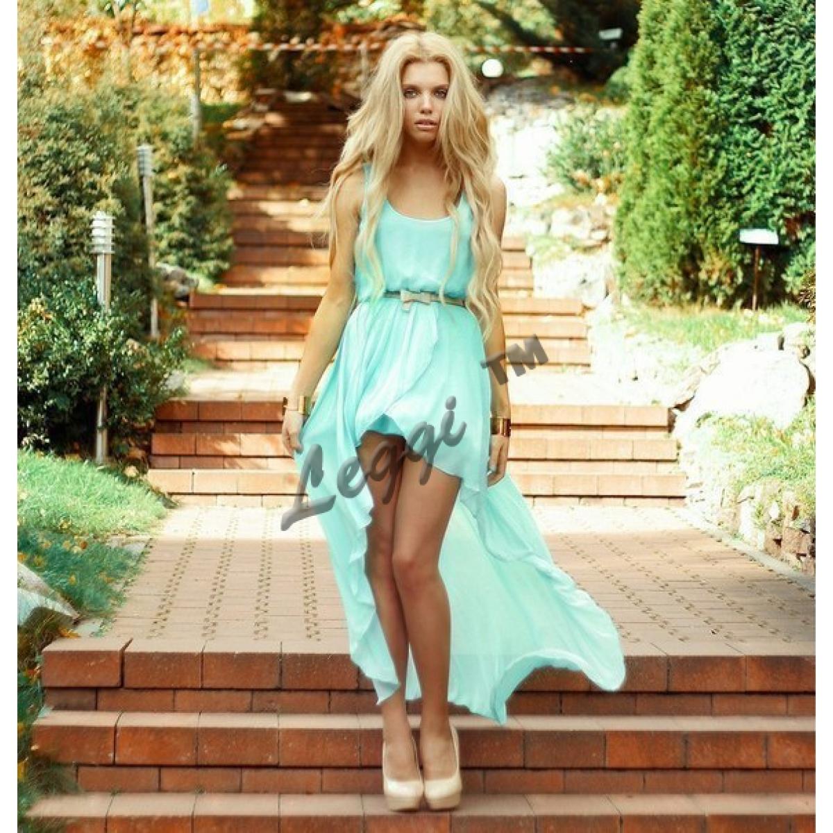 платье перед короткий зад длинный фото