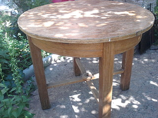 Реставрация раздвижного круглого стола своими руками 38