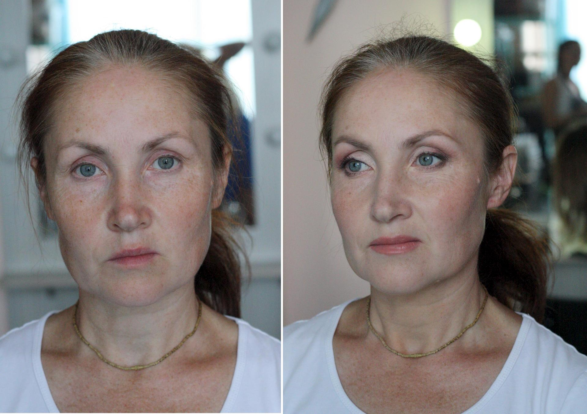 Возрастного макияжа тени фото