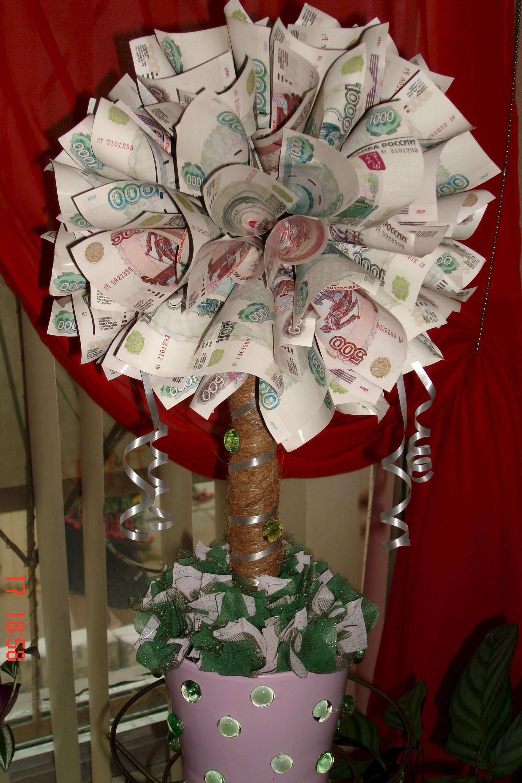 Какой подарок из денег 306