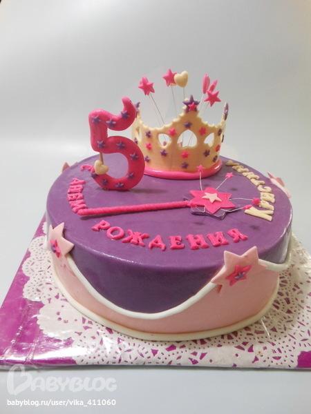 Торт девочке на 7 лет своими руками