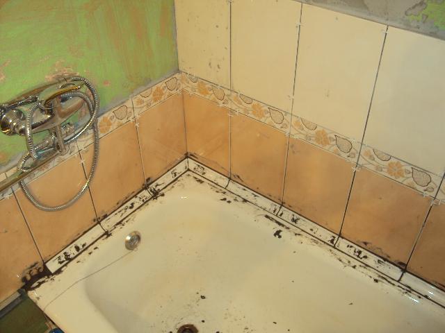 Сделать бордюр в ванной