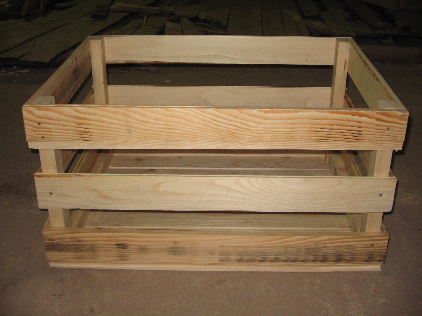 Деревянный ящик для яблок своими руками