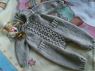 Вязание детских костюмов регланом 52