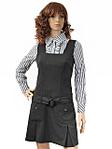 Цена: 250 руб Описание: Сарафан классического черного цвета с широкими бретельками и двумя карманами. .