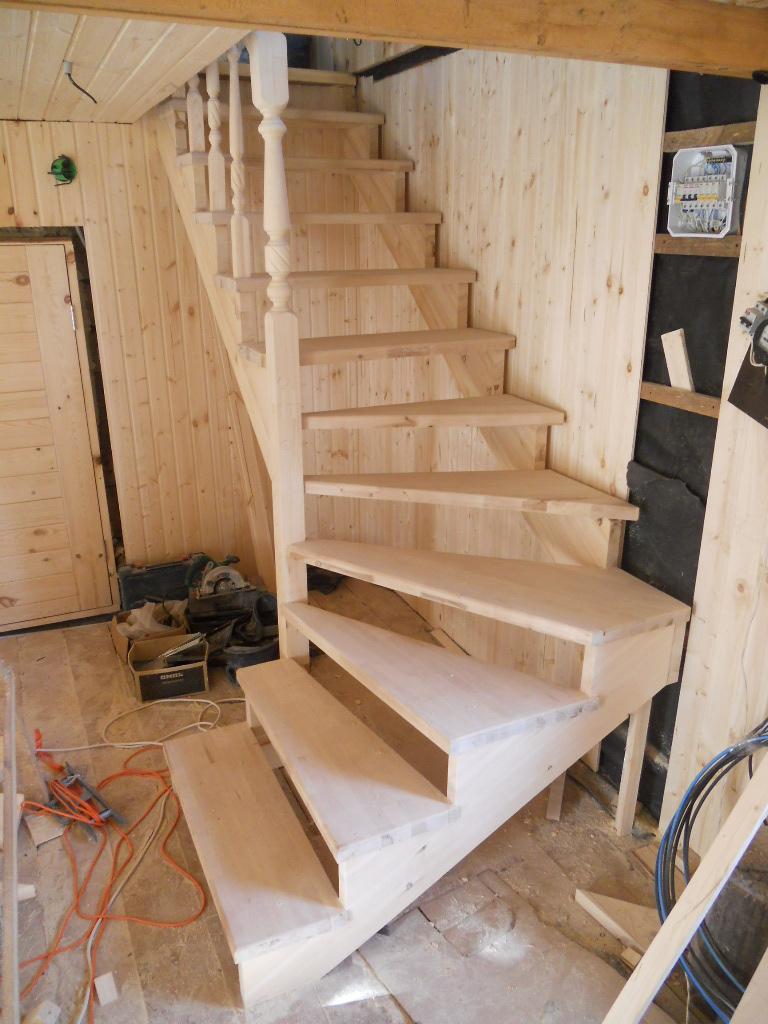 Как самому построить входную лестницу