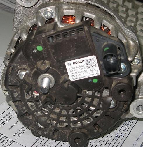 Ремонт генератора своими руками гранта 52