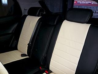 Передние сиденья, чехлы, обшивка, потолок и тюнинг