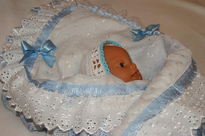 На выписку для новорожденных своими руками