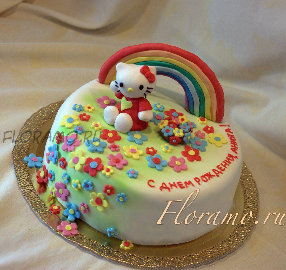 Как украсить торт на день рождения своими руками мастикой