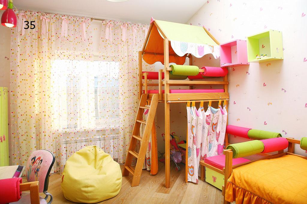 Детский уголок своими руками в комнате